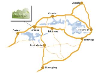 Jäder karta