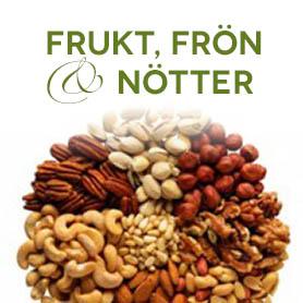 Frukt, Frön, Nötter, Snacks & Choklad