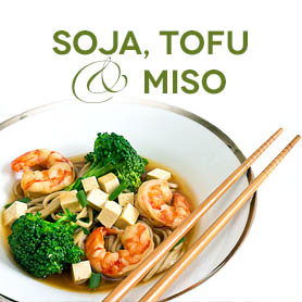 Bönor, Alger, Tofu, Tamari & Miso